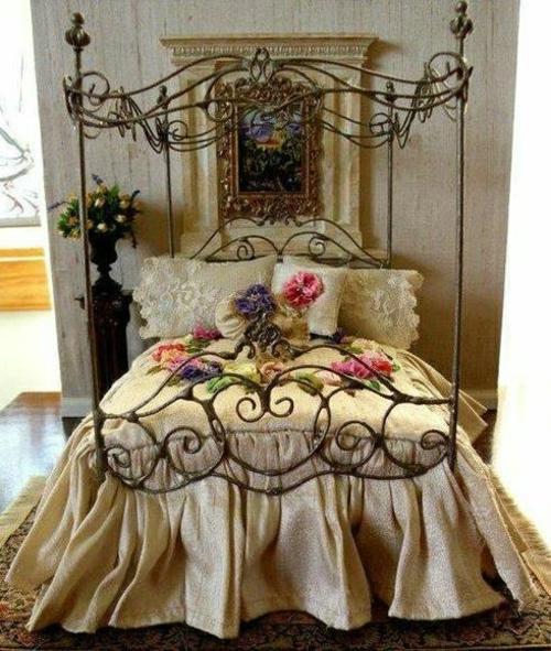 Romantische Schlafzimmer Einrichtung