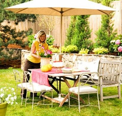 gestalten sie eine schattige sitzecke im garten, Garten und bauen