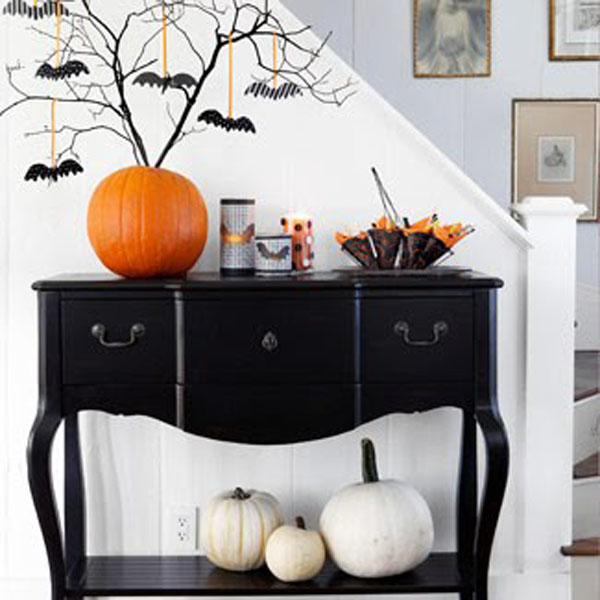 30 coole wohnideen f r halloween dekoration. Black Bedroom Furniture Sets. Home Design Ideas