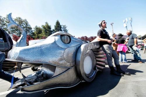 tolle hobby messen futuristisches sportwagen