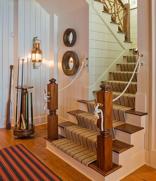17 Great Traditional Staircases Design Ideas: Von Steuerrädern Bis Zu Seesternen