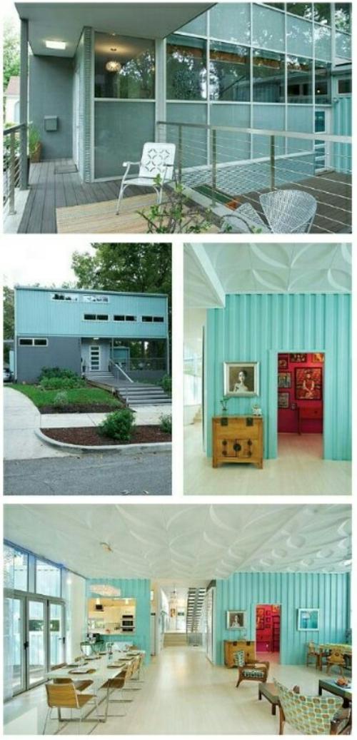 verglast design containerverschiffung sitzecke außenbereich veranda geländer