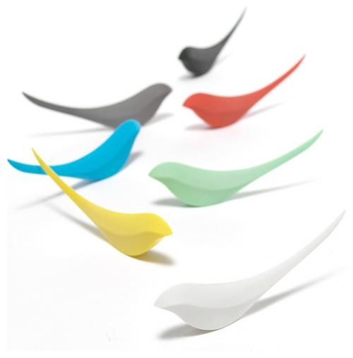 vogel papier messer idee bunt formen