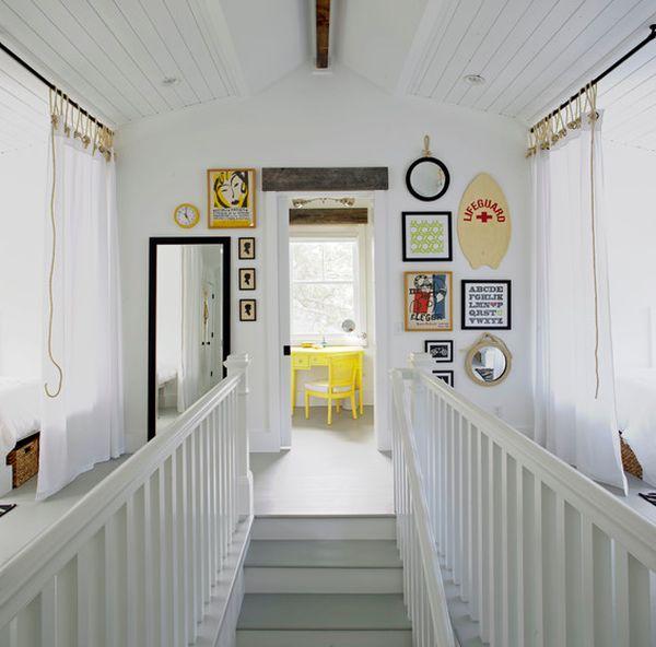Verwenden Von Spiegeln Im Inneren Des Wohnzimmers Um Den: Von Steuerrädern Bis Zu Seesternen
