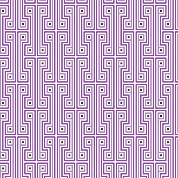 Ambiente in Violett inneneinrichtung akzente muster geometrisch