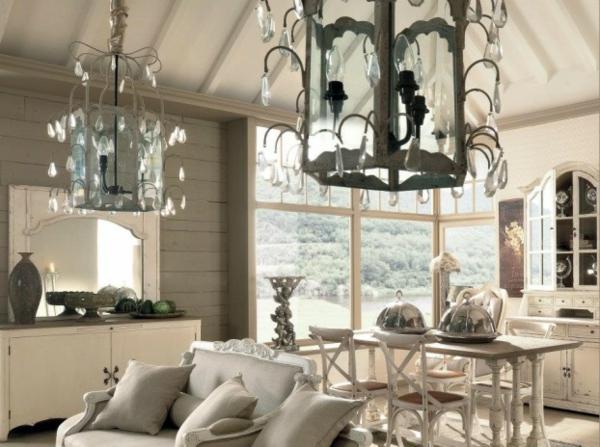Ausgefallene Designmöbel abgehängt decke kronleuchter sofas