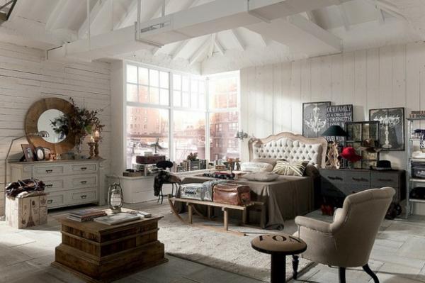 schöne Möbel Designs eleganz spiegel rund graue farben