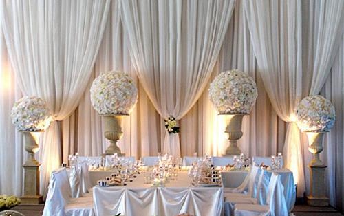 Hochzeitsdekoration selber machen blumensträucher kunst