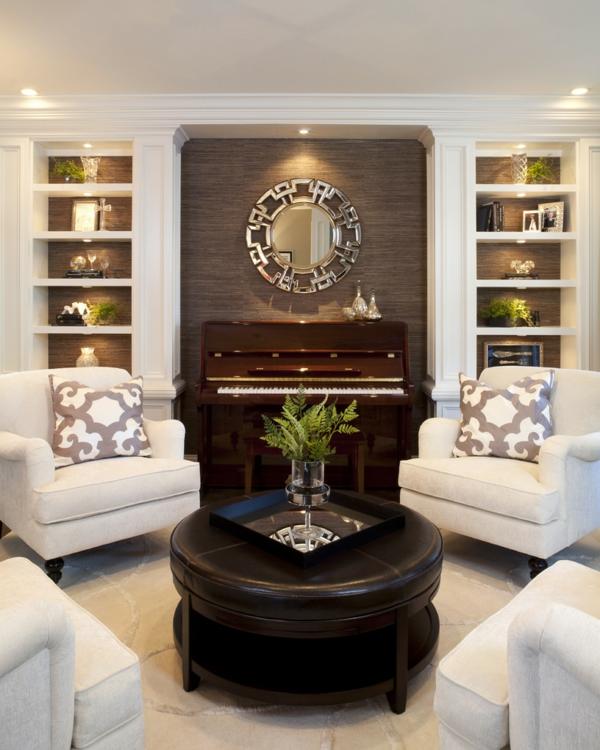 klassische möbel fürs wohnzimmer - traditionelle einrichtungsideen, Wohnzimmer