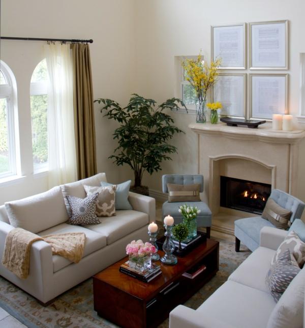Klassische Möbel fürs Wohnzimmer - traditionelle Einrichtungsideen