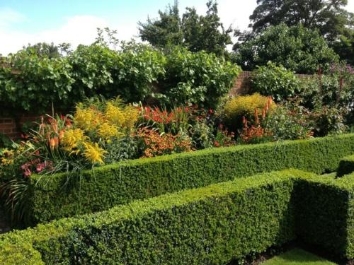Magischer englischer Stadtgarten gestaltung design pflanzenarten