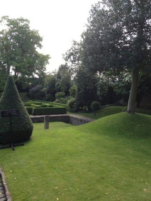 Magischer englischer Stadtgarten gestaltung gartenkunst grün