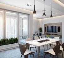 Modernes Apartment mit atemberaubender Inneneinrichtung in Deutschland gelegen