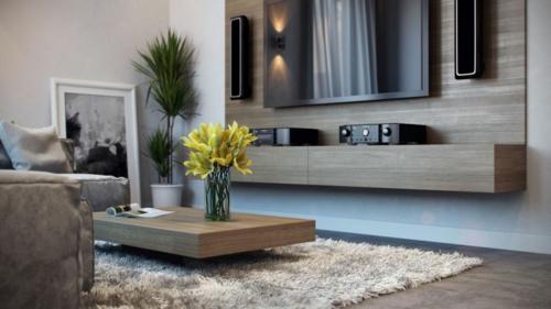 Modernes Apartment mit atemberaubender Inneneinrichtung teppich weich