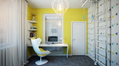 Modernes Apartment mit atemberaubender Inneneinrichtung wandgestaltung