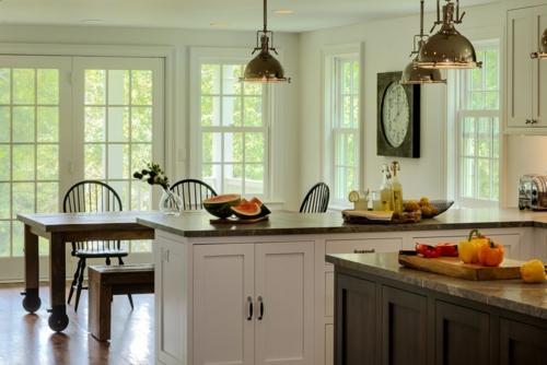 Profi-Tipps für Haus Renovierung küche insel essbereich fenster