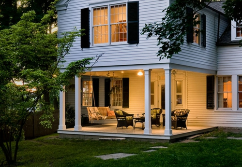Profi-Tipps für Haus Renovierung vordach veranda eingang hausverkauf