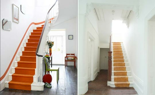 5 ideen f r treppenl ufer und teppiche f r holztreppen. Black Bedroom Furniture Sets. Home Design Ideas
