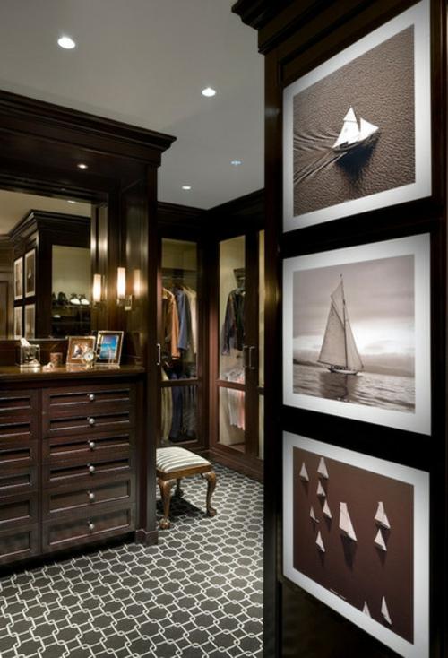 Wohnideen für einen funktionalen Schrank traditionell ankleideraum kunstgalerie