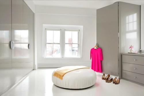 Wohnideen für einen funktionalen wandshrank glanzvoll oberflächen