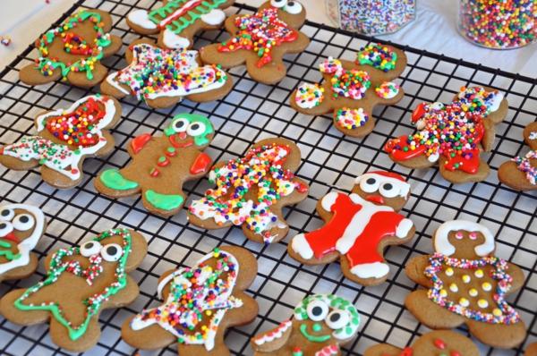 advent bescherung weihnachten lebkuchen plätzchen deko
