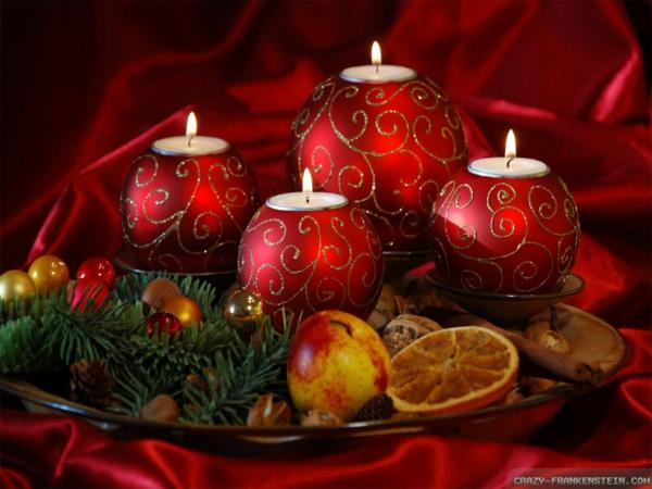 advent bescherung weihnachten weihnachtskugel dekom stimmung kerzen