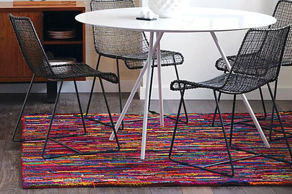 modernes Esszimmer Tisch einrichten Ideen rund ausziehbar die Collection