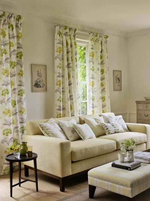 blasse farben moderne trends heimtextilien gardinen wohnzimmer