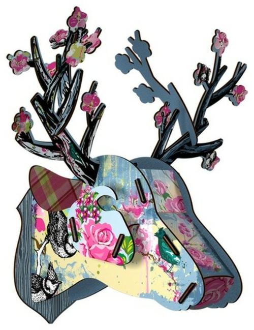 coole Accessoires im englischen Stil dekoration blumenmuster