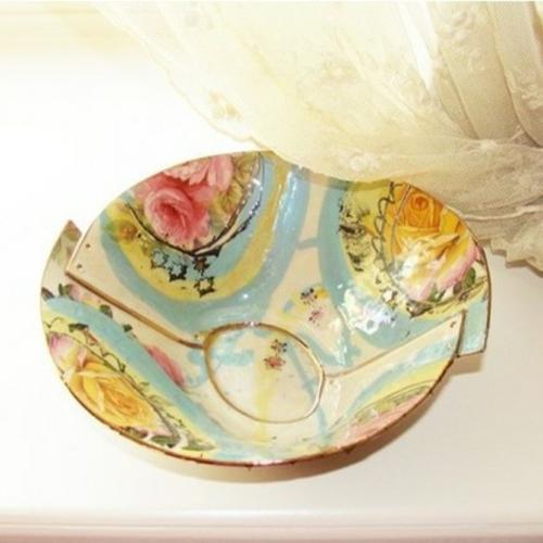coole Accessoires im englischen Stil schale keramisch gemustert