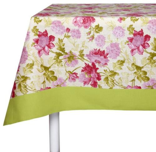coole Accessoires im englischen Stil tischdecke blumen floral muster