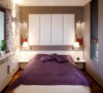 Coole Deko Ideen für das kleine Schlafzimmer - 10 nützliche Vorschläge