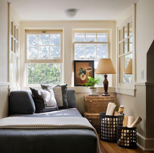 Coole Deko Ideen Schlafzimmer Klein Eng Platzsparend Bett Aufbewahrungkisten