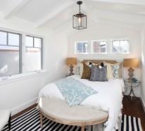 Coole Deko Ideen für das kleine Schlafzimmer – 10 nützliche ...