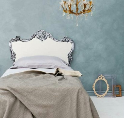 Kreative Deko Idee im Schlafzimmer - Kopfteil zum Selbermachen