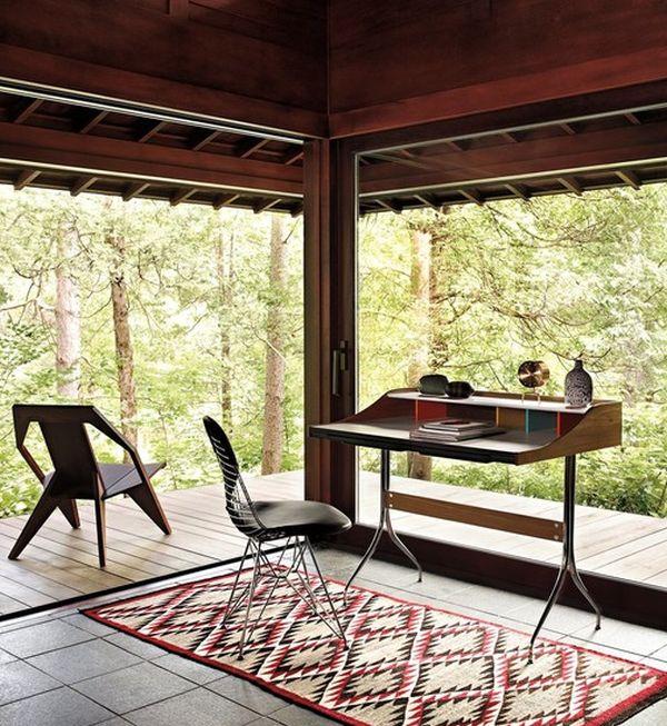 designer büro airia desk veranda holz arbeitsplatz praktisch schlicht