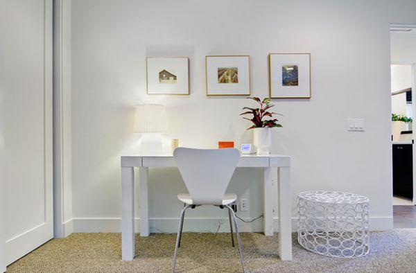 designer büro parsons desk weiß arbeitsecke raffinesse
