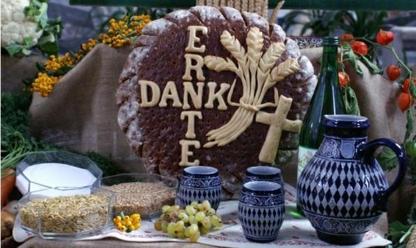 erntedankfest in deutschland christliche dekoration