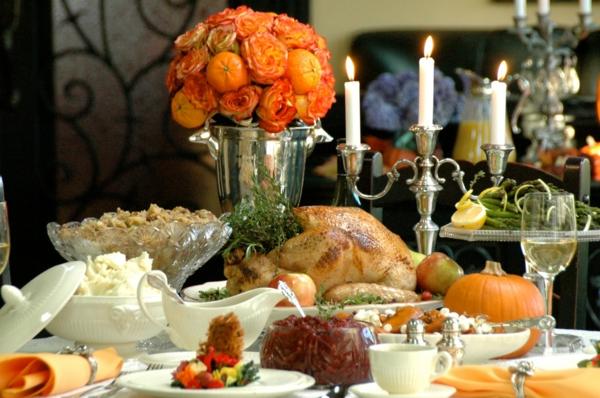 erntedankfest in deutschland orange rosen und nektarinen