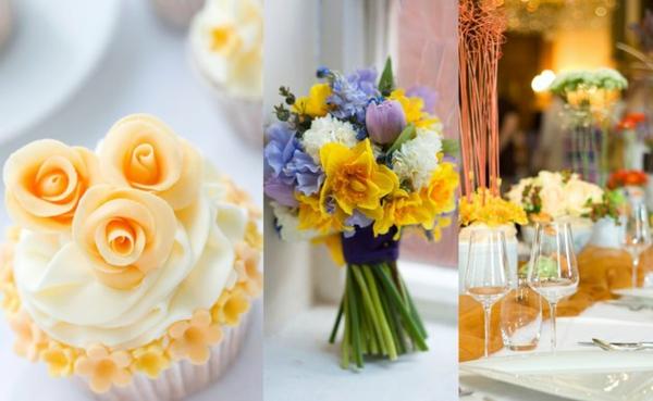 Farben und Ideen für eine erstaunliche Hochzeit im Herbst