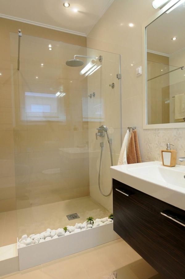 badezimmer creme und wei – topby, Moderne deko