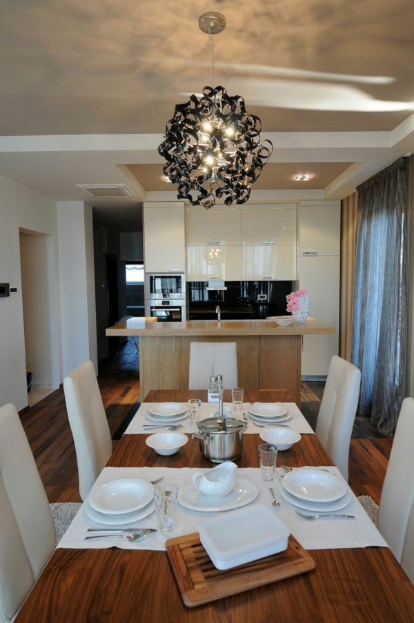 exklusive penthousewohnung minimalistisches schrankensystem hochglanz