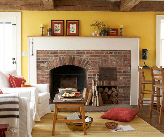familienfreundliche wohnzimmer offene deckenbalken aus holz