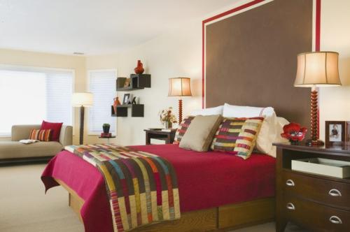 einrichtungsideen schlafzimmer rot ~ Übersicht traum schlafzimmer - Schlafzimmer Mit Rot