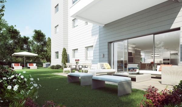 Gartenmöbel Außenbereich Gebäude Baustruktur Rattan Ando Studio