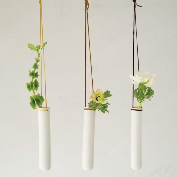 hängende blumentöpfe zimmerpflanzen luftige modern art