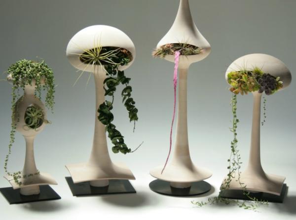 hängende blumentöpfe zimmerpflanzen modern tend innovativ