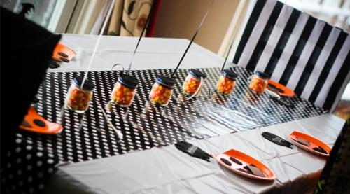 Halloween Tischdeko Zum Selbermachen 34 Originelle Ideen Zum Staunen