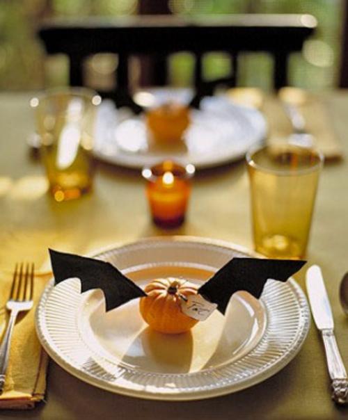 halloween tischdeko zum selbermachen 34 originelle ideen. Black Bedroom Furniture Sets. Home Design Ideas