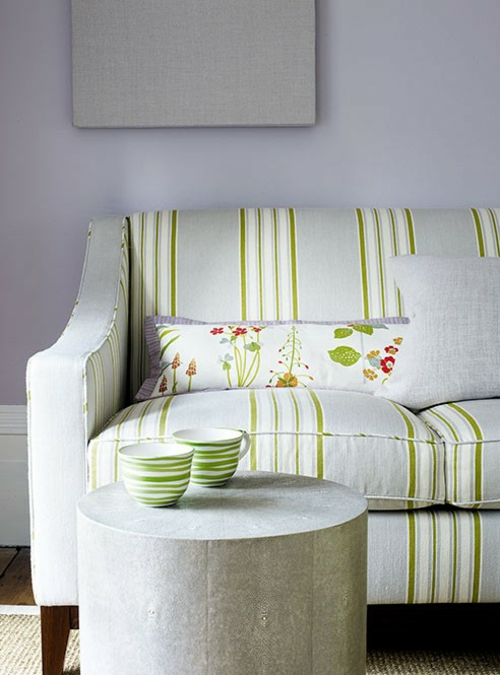 heimtextilien streifen sofa traditionell wohnkultur kissen bezug
